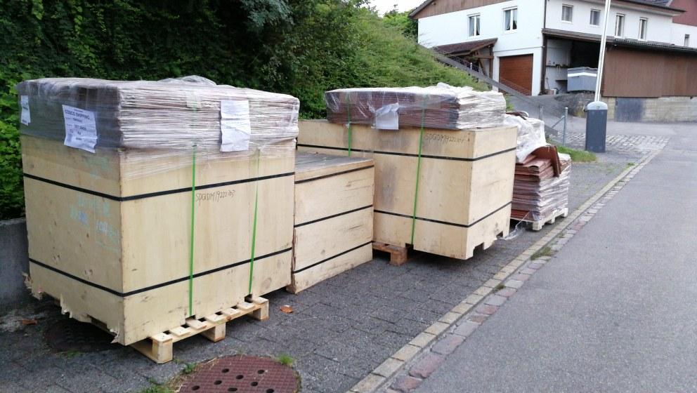 Prongs in Kisten